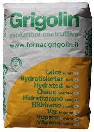 peso ghiaia al metro cubo calce idrata grigolin 25 kg a base idrato di calce per edilizia