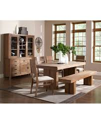 Freeds Furniture Arlington by Champagne Dining Trestle Table Created For Macy U0027s Trestle
