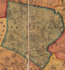 Old Map Framingham Matters Old Maps And Aerial Drawings Of Framingham