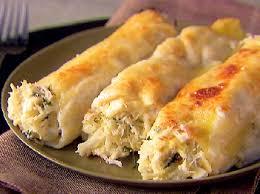 recette de cuisine italienne cannellonis farcis au fromage ricotta et aux épinards recette