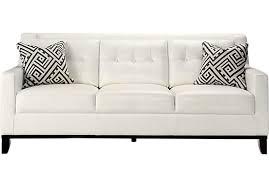 Bellini Leather Sofa Leather White Sofa Facil Furniture