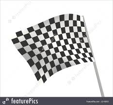 Checker Flag Sports Background Abstract Checkered Flag