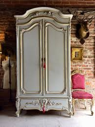 Entryway Armoire by Vintage French Armoire Wardrobe With Mirror For Sale At Pamono