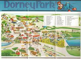 Map Of Wet N Wild Orlando by Newsplusnotes Mike U0027s Fill In Brochure Spotlight Dorney Park 1984