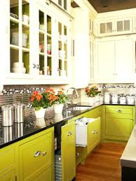 two color kitchen cabinets ideas what with black countertops