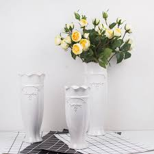 Marriage Home Decoration Online Get Cheap White Ceramic Flower Vase Large Aliexpress Com