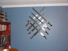 Hanging Pictures On Drywall by Best Way To Hang A Sword On The Wall Myarmoury Com