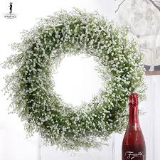 hanging flowers mantianxing artificial hanging flowers wreaths decoration