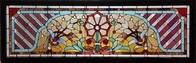 antique stained glass transom window fid17004 73 u201d x 24 u201d antique american stained glass windows 541