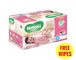 huggies gold specials disposable nappies huggies gold girl size 3 mega pack 144 s