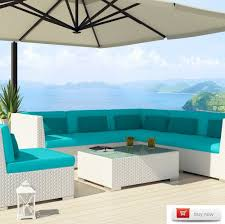 Modular Wicker Patio Furniture - outdoor sectional sofa garden of wicker