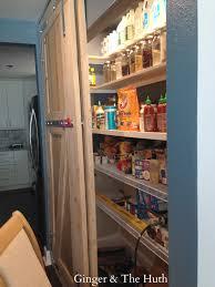 diy doorless pantry makeover
