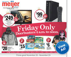 best black friday deals meijer meijer 1 day sales u2013 thursday friday u0026 saturday