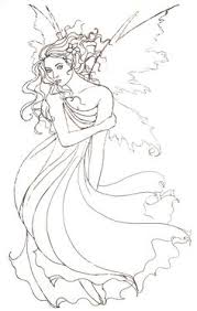 draw fairy step step drawing painting fun