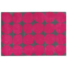 Pink 8x10 Rug 8 X 10 U0027 Ink Spot Rug Pink The Land Of Nod