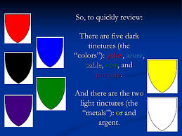 There Are Five Lights Blazon Sampler A Selection From Each Of Our Heraldry Programs