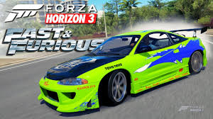 mitsubishi eclipse 1995 custom forza horizon 3 fast and furious mitsubishi eclipse gsx youtube