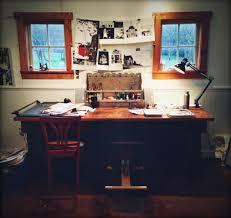 Studio Work Desk A Day In The Life Of Carson Ellis U2013 Design Sponge