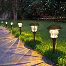 great way to add light outdoorsno plugs no installation no  with smartyard solar led large pathway lights   pack from pinterestcom