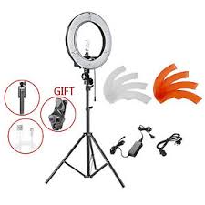 neewer led ring light neewer 14 outer 36w 180 smd video led ring light with light stand