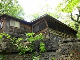 table rock lake house rentals with boat dock caddell cabin green cocoon lakefront cabins private boat dock