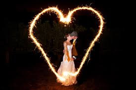 heart sparklers be careful when baring your heart with the heart sparklers