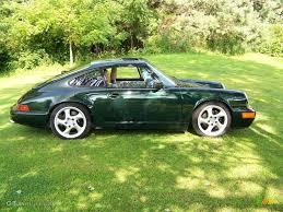 porsche 911 dark green 1989 forest green metallic porsche 911 carrera 4 coupe 16110785