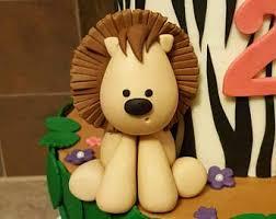 lion cake topper lion cake topper etsy