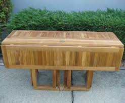 Rectangular Drop Leaf Table Teak Rectangular Drop Leaf Table