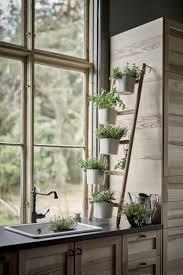 satsumas plantenstandaard met 5 potten bamboe wit planters