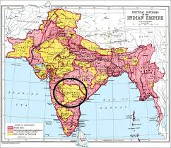 Hyderabad Map The Princely State Of Hyderabad 1798 1948 Dead Country