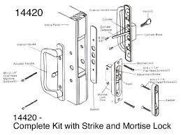 Patio Door Lock Parts Patio Door Lock Cylinder Free Home Decor Techhungry Us
