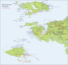 Pennsylvania On The Map by Indonesia Traveling On Tourism Destination Raja Ampat Map