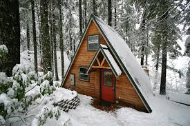 building an a frame cabin cabins small houses cottages bhs contracting oregon contractor