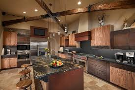 Beech Wood Kitchen Cabinets by Beech Wood Cabinets Kitchen Southwestern With Kitchen Bar Beige
