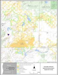Blm Colorado Map by Monument Expansion Likely To Deal Financial Blow Say Klamath Co