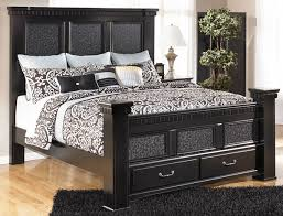 King Size Bed Frame Storage Cavallino Mansion King Size Bed With Storage Footboard By