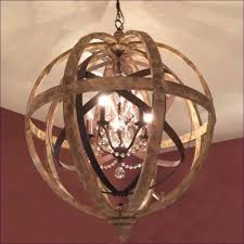 Sphere Chandelier With Crystals Interiors Small Globe Chandelier Mini Globe Chandelier Wrought
