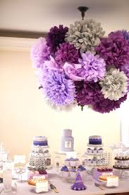 Birthday Table Decorations by Best 20 Purple Party Ideas On Pinterest Purple Birthday