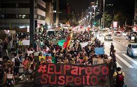 Common Movimento negro mostra força em marchas contra violência policial  &DU24