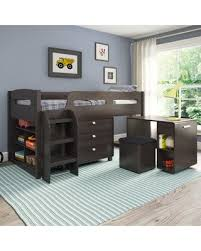 bargains on deion twin loft bed with storage