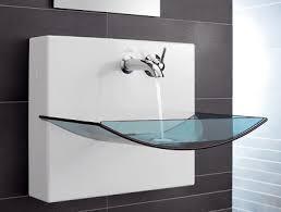waschbecken design eine liaison zwischen keramik und glas für einen waschtisch