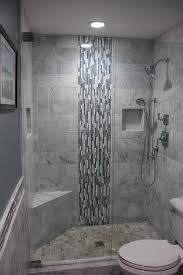 bathroom shower tile design exle of a recessed product niche in tile which keeps the