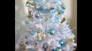 My Christmas Tree by How I Decorate My Christmas Tree Winter Wonderland Theme Youtube