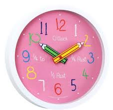 unique pink wall clock 12 000 wall clocks
