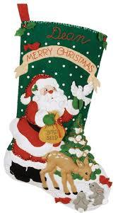 bucilla christmas bucilla christmas cookies christmas felt appliqué kit