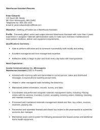 Resume Samples For Warehouse Jobs Warehouseman Resume Unforgettable Warehouse Associate Resume