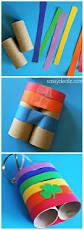 rainbow toilet paper roll binoculars craft for kids binocular