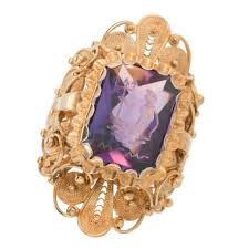 amethyst gold rings images Antique amethyst cocktail ring sugar et cie antique rings jpg