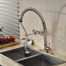 kitchen faucet plate luxury nickel brushed kitchen faucet vessel sink mixer tap 8